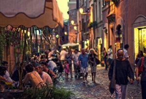 Nuit à Trastevere