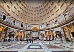 Intérieur Panthéon Rome