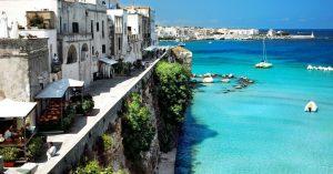 La mer vue de Lecce